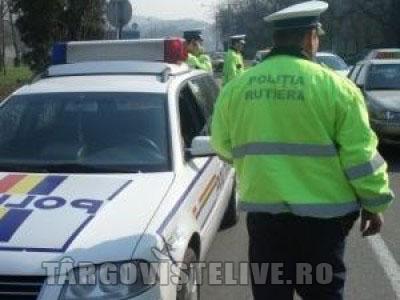 POLIŢIA RUTIERĂ LA TURAŢIE MAXIMA: O MEDIE DE APROAPE O SUTĂ DE SANCŢIUNI PE ORĂ
